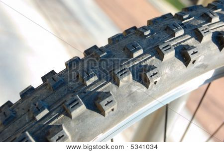 Bicycle Tyre Tread