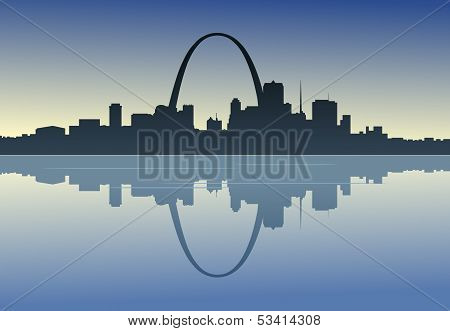 Saint Louis Downtown Riverfront