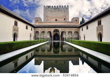 Comares, Palacio Nazaries Alhambra Granada, Spain