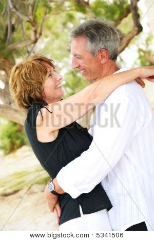 schöne mature Couple in love