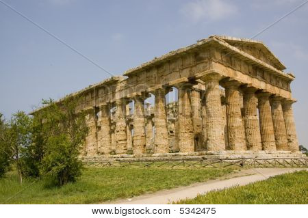 Paestum Temple Of Hera