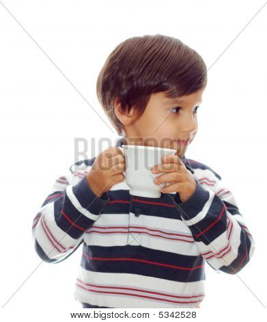 Kid With A Cup
