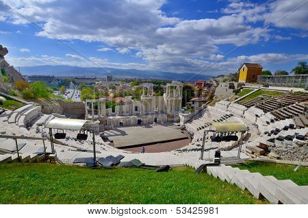 The ancient theatre of Philippopolis