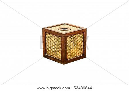 Tissue Paper Box  Isolated