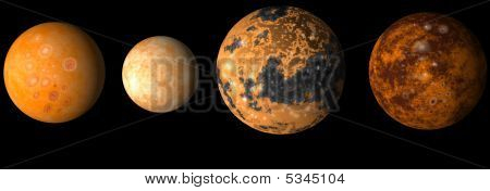 Moons Of Jupiter