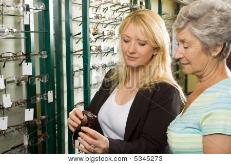Wahl bei der Optiker