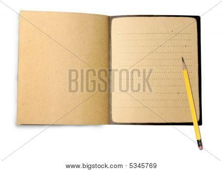 Lápis e Note Book