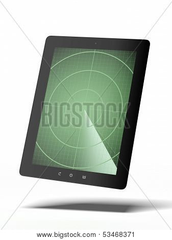 Tablet with radar
