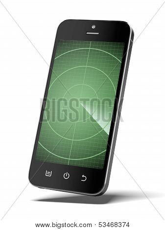 Smartphone with radar