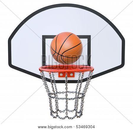 Street basketball kit