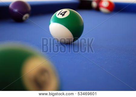Billiard Balls Composition