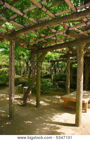 Shady Pergola Koko-en Gardens