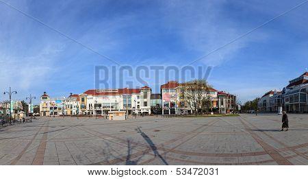 The Resort Square In Sopot