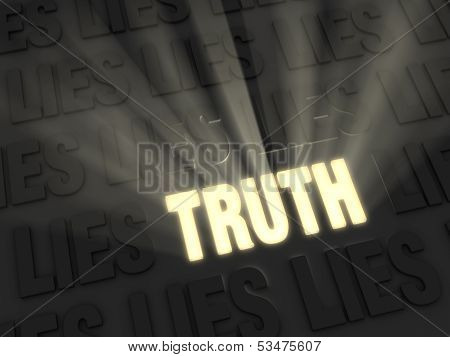Truth Outshines Lies