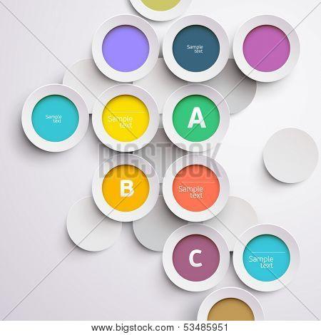 Design colorful circle.