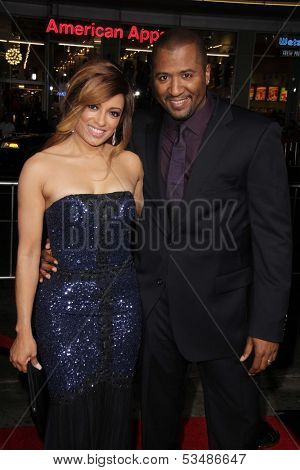 LOS ANGELES - NOV 5:  Melissa De Sousa, Malcolm D. Lee at the