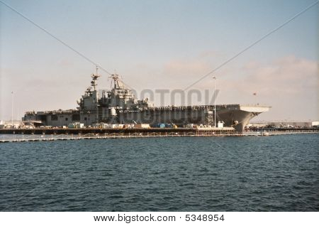 Us Navy Ship In San Diego