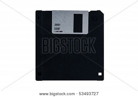 Floppy Diskette Isolated