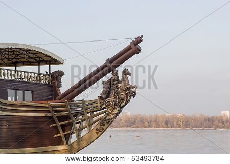 An Old Barge