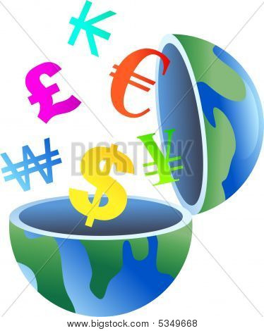 Currency Globe