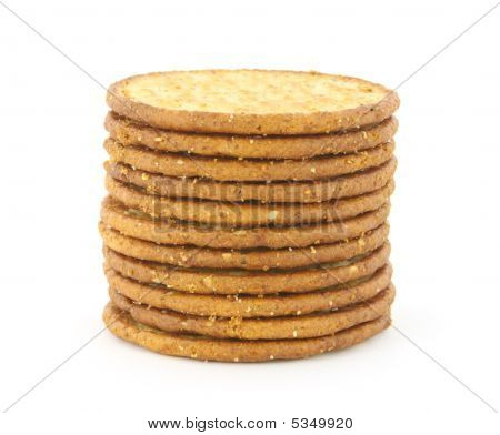 Multi Grain Cracker Stack