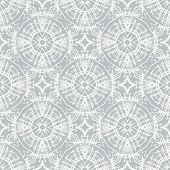 stock photo of crotch  - white lace on grey - JPG