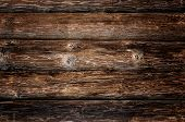 image of house woods  - Weathered wooden logs with natural pattern grunge background - JPG