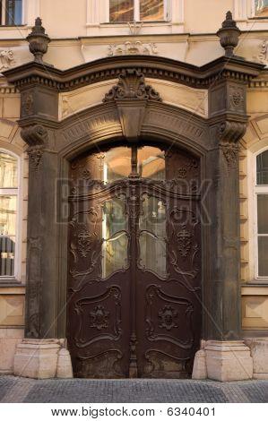 Decorated Ancient Doors