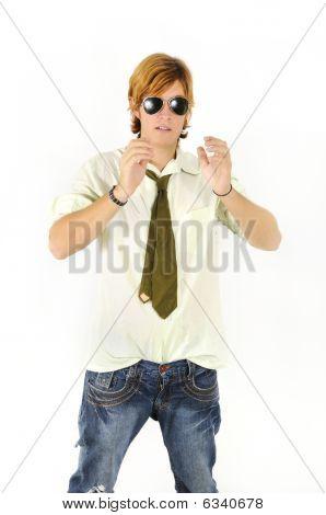 Trendy Teen Boy