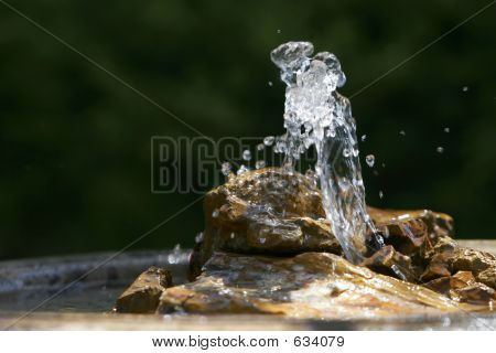 Soothing Fountain, Rocks, & Basin #2