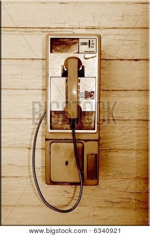 Old Payphone