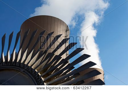 Steam Turbine Against Nuclear Plant