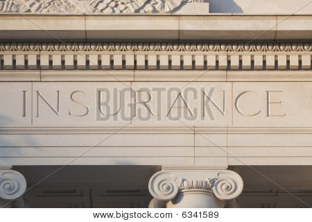Insurance Etched into Sandstone