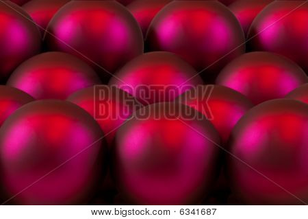 Red tree ornaments