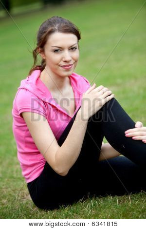 Sporty Woman Outdoors