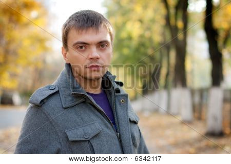 Portrait Of A Young Man With A Keen Eye