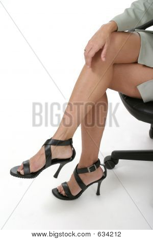 Distracting Legs In Business Office 1