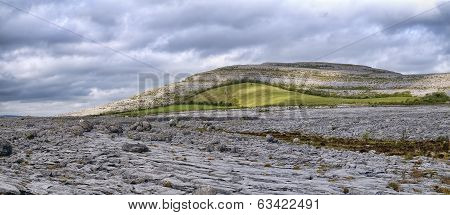 The Burren Is A Karst-landscape Region