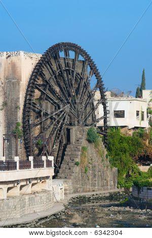 Waterwheel In The City Of Hama