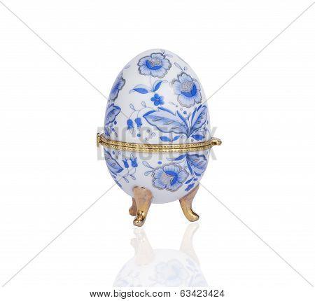 Casket In The Shape Of An Egg