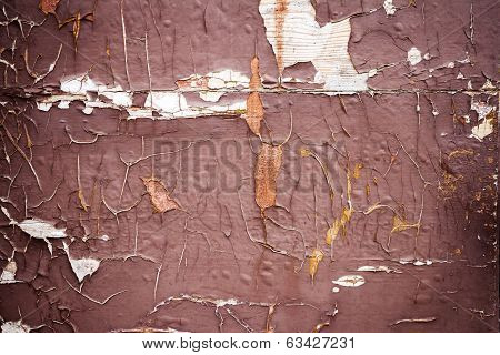 Old Painted Wall