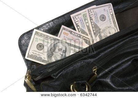 Money In Big Bag