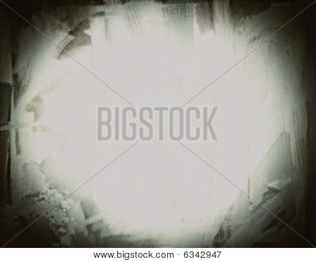 Etched Glass Grunge Background