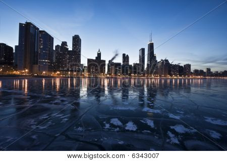 Abend in Chicago, Gold coast