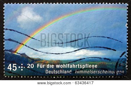 Postage Stamp Germany 2009 Rainbow, Celestial Phenomena