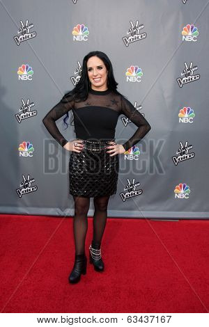 LOS ANGELES - APR 15:  Kat Perkins at the NBC's
