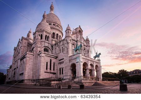 Basilica of Sacre Coeur, Paris