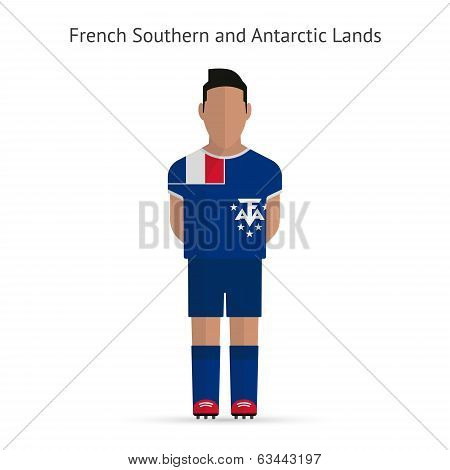 French Southern and Antarctic Lands football player.