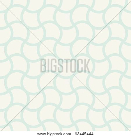 Vector Seamless Pattern. Vintage Simple Square Wall Design