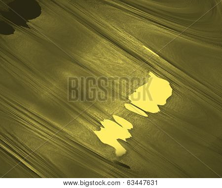 Liquid Gold Texture. Abstract Gold Background. Template Design.